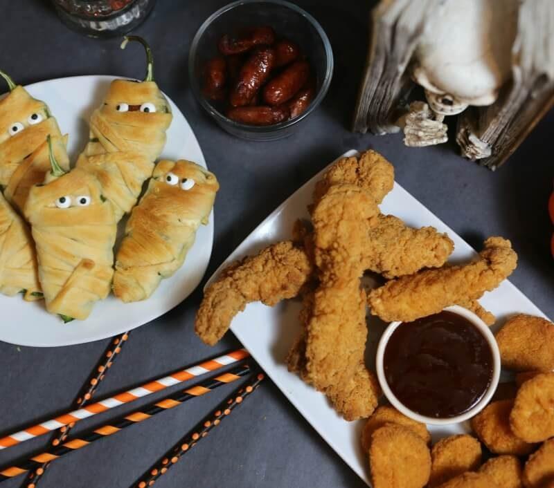 Mummy Jalapeno Poppers with Hillshire Farm® Lit'l Smokies® Smoked Sausage 2