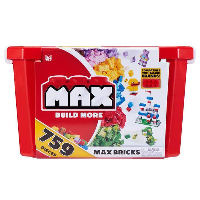 Max Build More Blocks