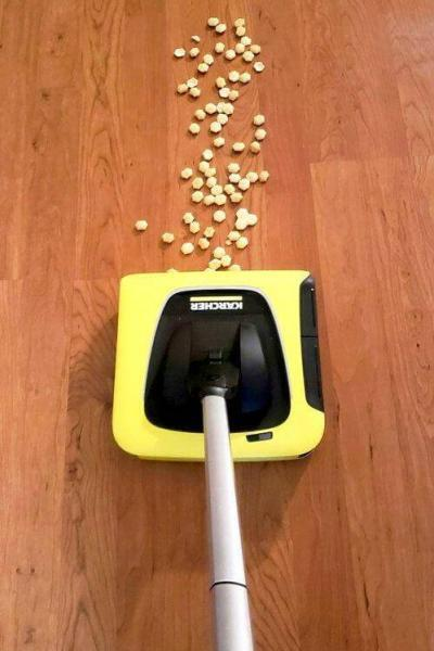 Karcher KB 5 Electric Broom – A Convenient Way to Clean Your Floors #giftguide