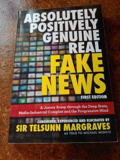 Absolutely Positively Genuine Real Fake News #Gift Guide 2