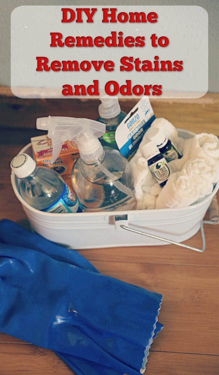 DIY Home Remedies to Remove Stains and Odors