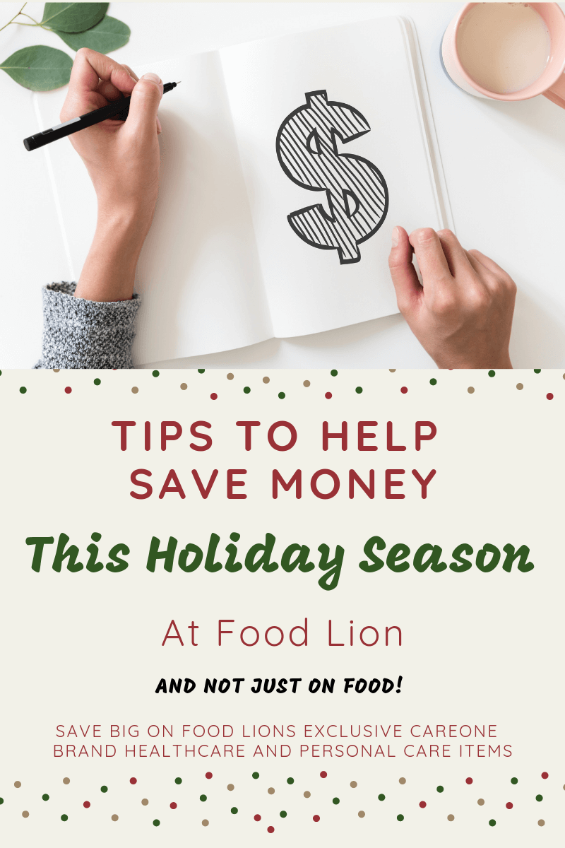Tips to help you save money this holiday seasons at Food Lion