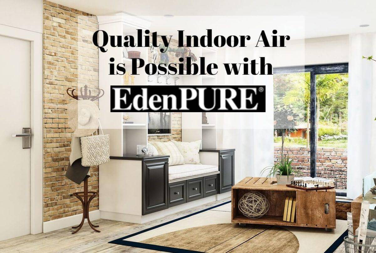 Quality Indoor Air is Possible with EdenPURE | #EdenPURE #HolidayGiftGuide #airpurifier #ultrasonichumidifier