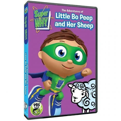 Super Why: The Adventures of Little Bo Peep and Her Sheep DVD Review 1