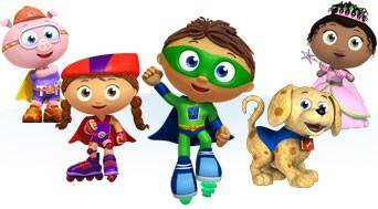 Super Why: The Adventures of Little Bo Peep and Her Sheep DVD Review 3