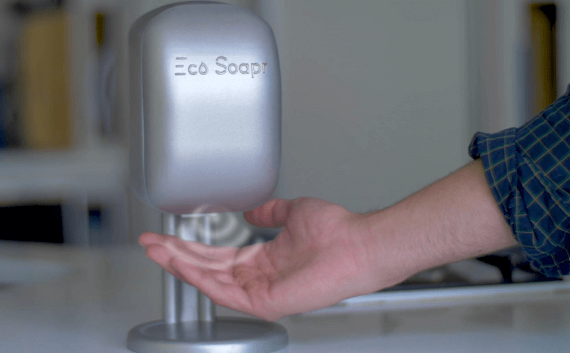 Eco Soapr Patented Soap Dispenser is The Future of Clean