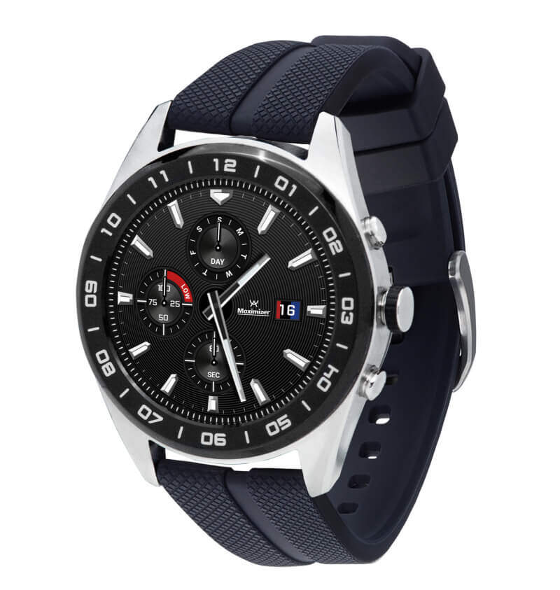 A Gift For My Guy! LG W7 Smartwatch 44.5 Stainless Steel