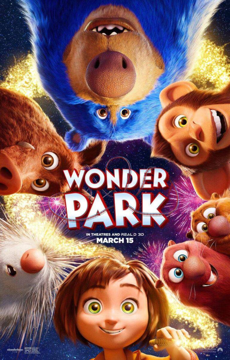 Wonder Park in theatres and read d 3d March 15th  Family Activities That Encourage Creative Imaginations