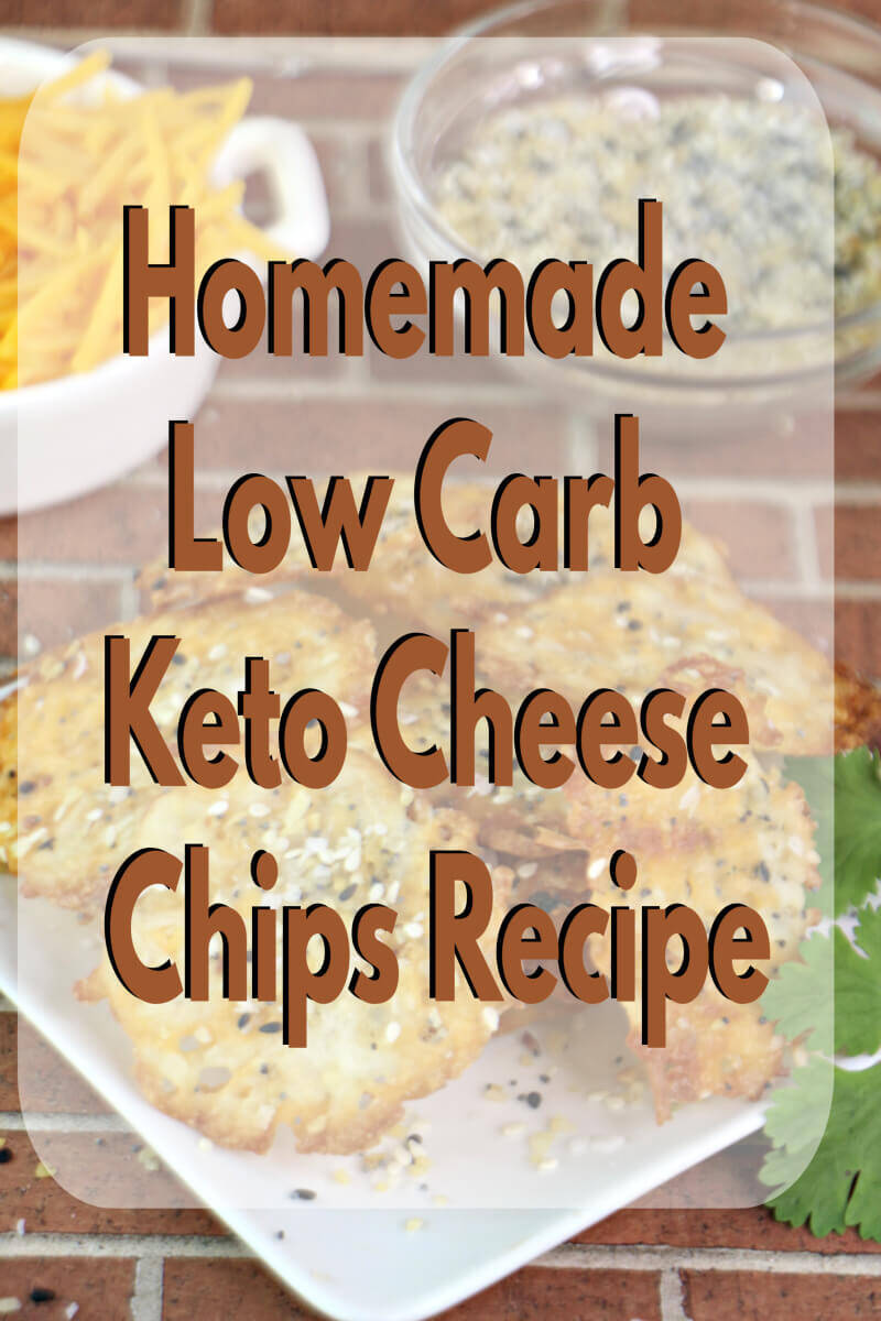 Homemade Low Carb Keto Cheese Chip recipe
