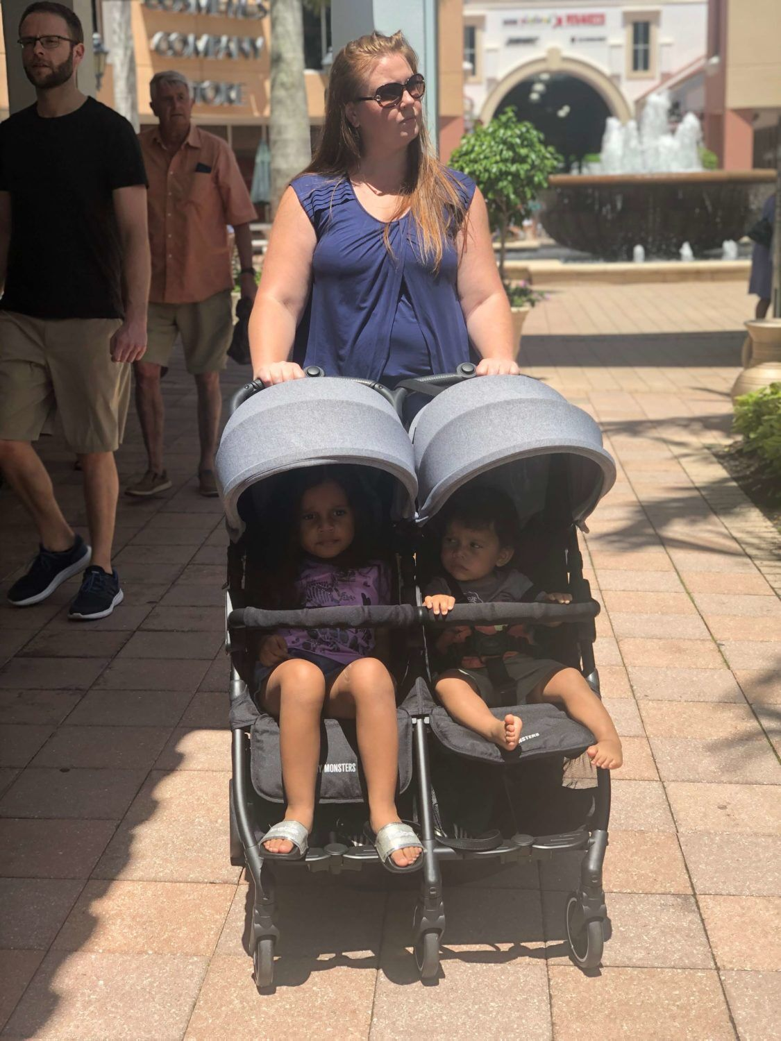 The Double Stroller That's Changing the Game: KUKI Twin Stroller by Baby Monsters ~ #KUKITwin #BabyMonsters #doublestroller #babygear