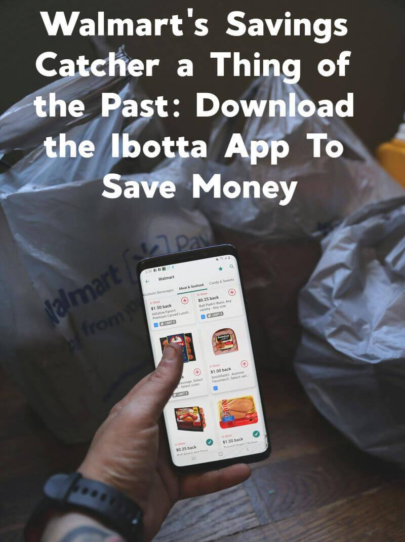 Walmart's Savings Catcher a Thing of the Past: Download the Money Savings App Ibotta