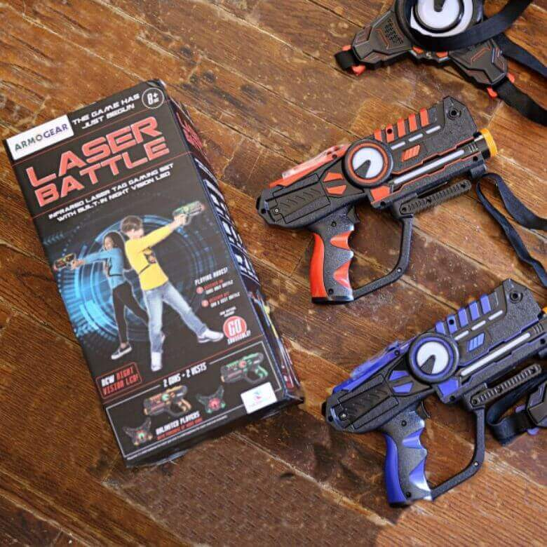 Places To Play Laser Tag with The Kids