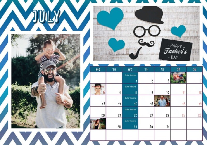 Personalized Calendar with Photos As a Great Gift Idea