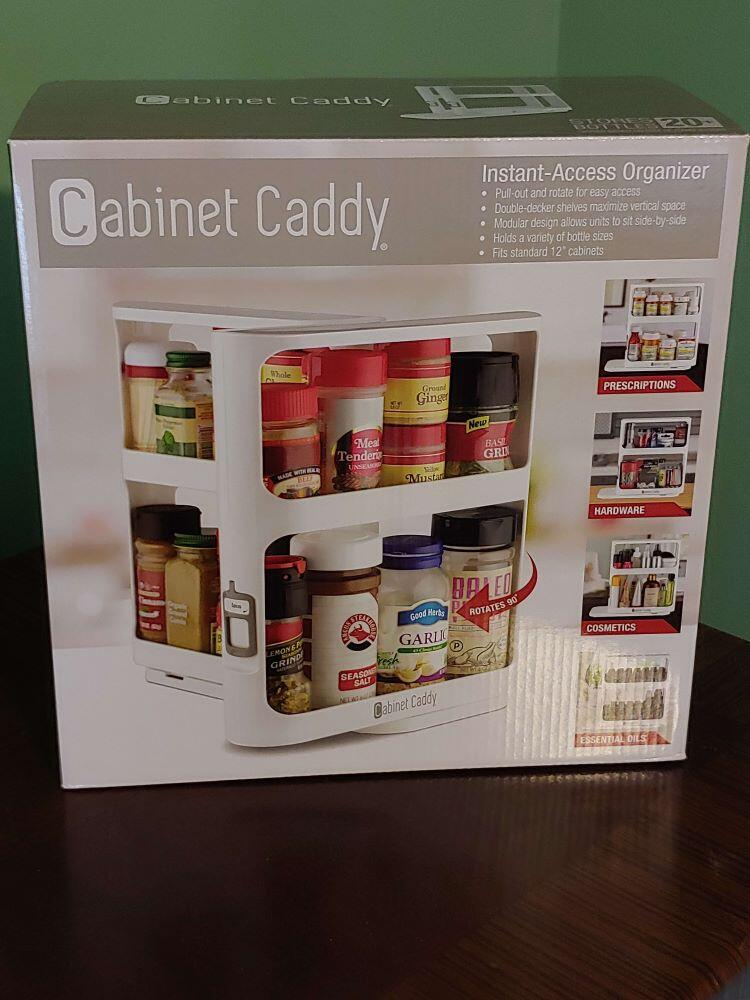 MAKE YOUR LIFE EASIER WITH INSTANT ACCESS FROM A CABINET CADDY 2