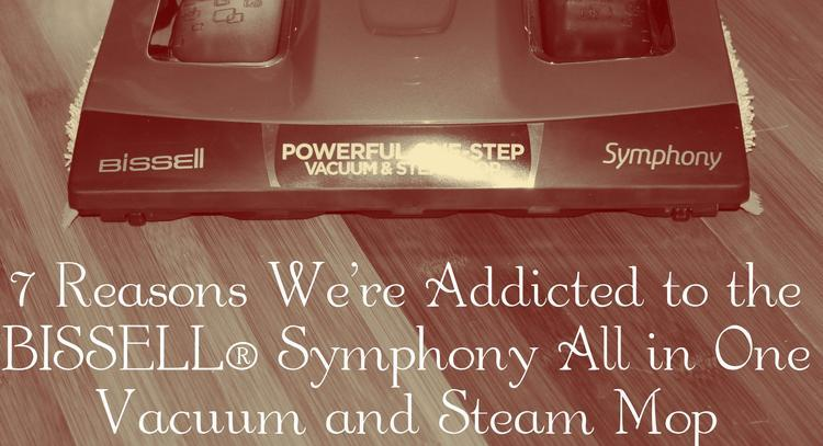 7 Reasons We're Addicted to the BISSELL® Symphony™ All in One Vacuum and Steam Mop best steam mop