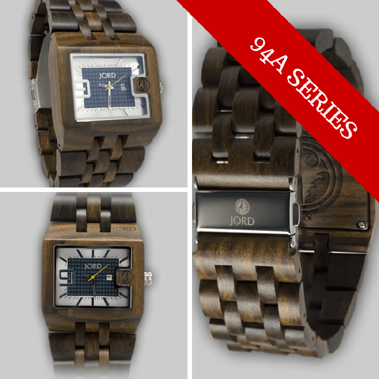 94A Series Wood Watch by JORD
