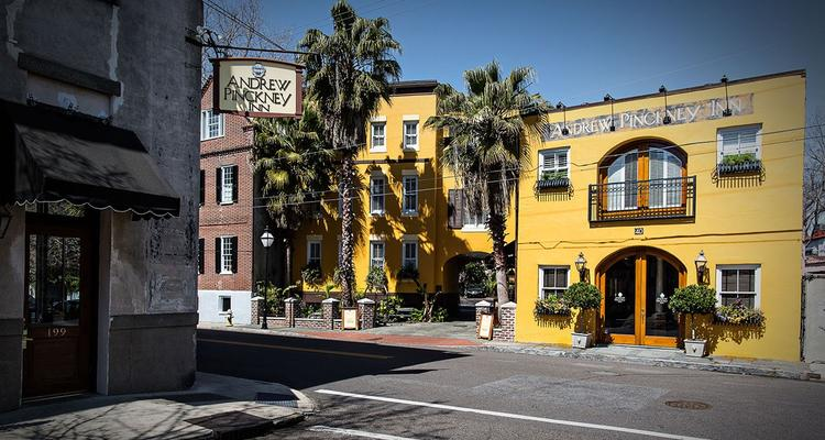Charleston ANDREW PINCKNEY INN Things To Do In Charleston | FIJI Waters Earths Finest City Guide