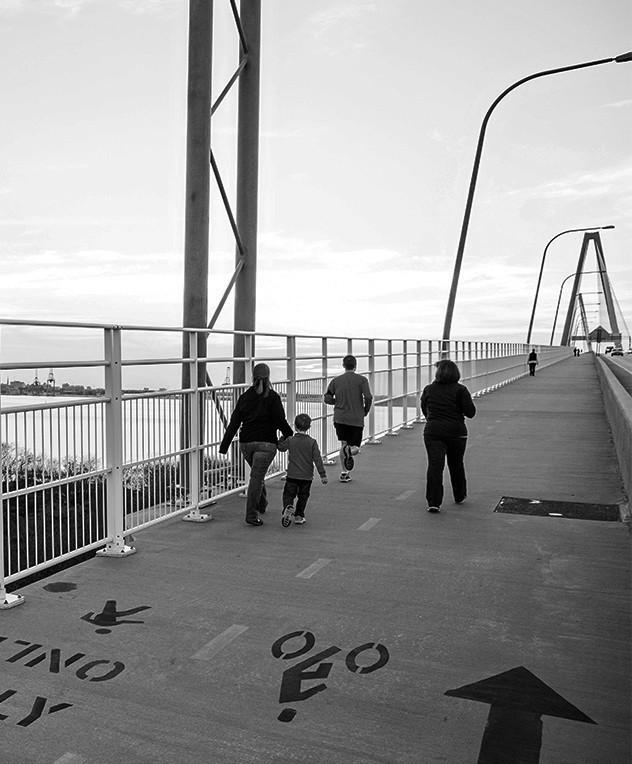 Charleston WALK ARTHUR RAVENEL JR. BRIDGE Things To Do In Charleston | FIJI Waters Earths Finest City Guide