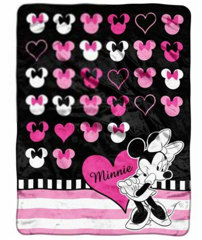 Disney Love Minnie Micro Throw Decorate Your Toddlers Room With Disney, Plus 3 Must Have Baby Items