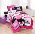 Disney Minnie Mouse Bedding Quilt Set