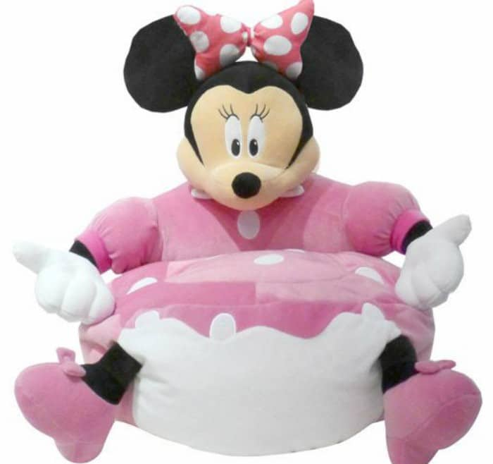 Disney Minnie Mouse Figural Bean Bag Chair1 Decorate Your Toddlers Room With Disney, Plus 3 Must Have Baby Items