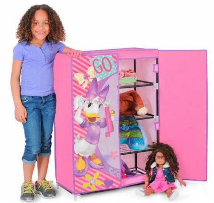 Disney Minnie Mouse Free Standing Closet Decorate Your Toddlers Room With Disney, Plus 3 Must Have Baby Items