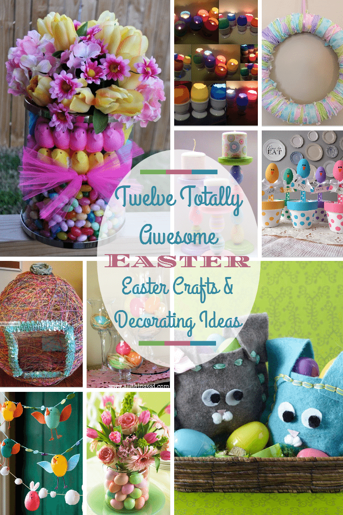 Twelve easter crafts decorating ideas and diy fun negle Choice Image