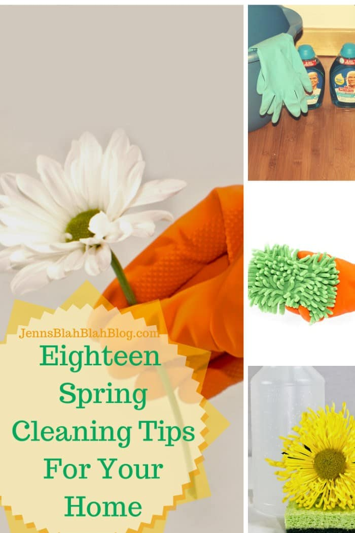 Eighteen Spring Cleaning Tips For Your Home