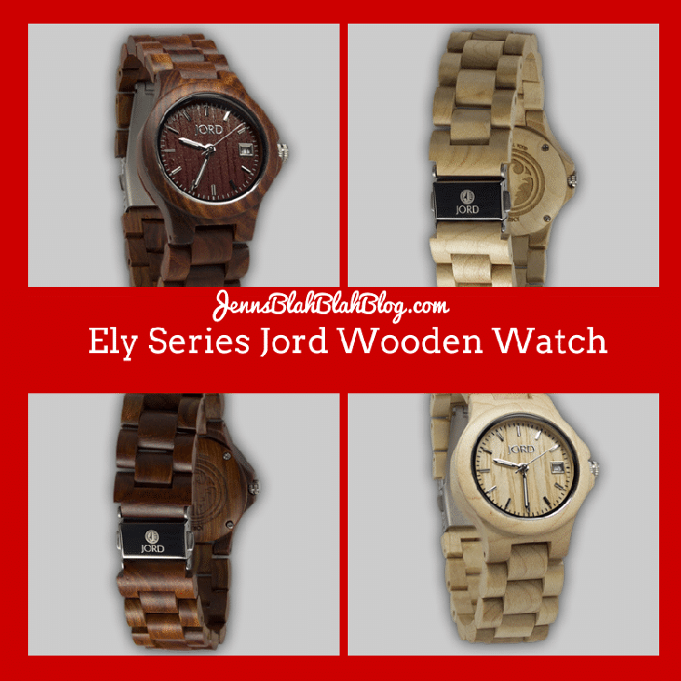 Ely Series Jord Wooden Watch Great Valentine's Day Gift Idea For HIm