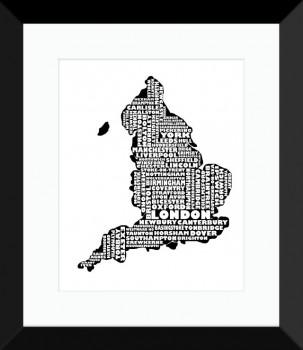 England-BLACK-303x350 It's Easy to Find your Way with Map my State
