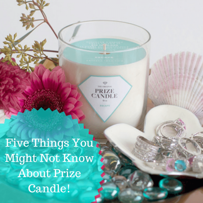 Five Things You Might Not Know About Prize Candle
