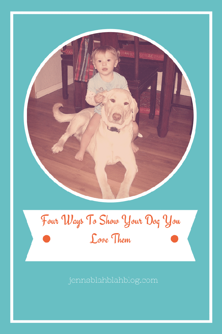4 Ways To Show Your Dog You Love Them & #FREE Smaple of ...