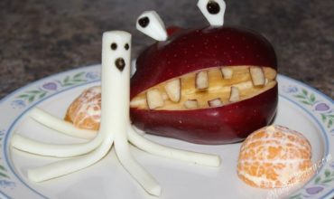 Two Apple Halloween Snack Ideas The Kids Will Love