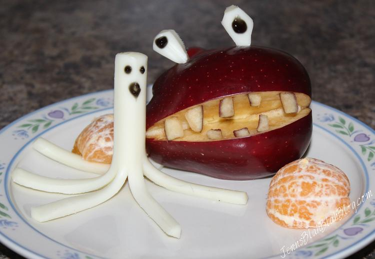 Two Apple Halloween Snack Ideas The Kids Will Love