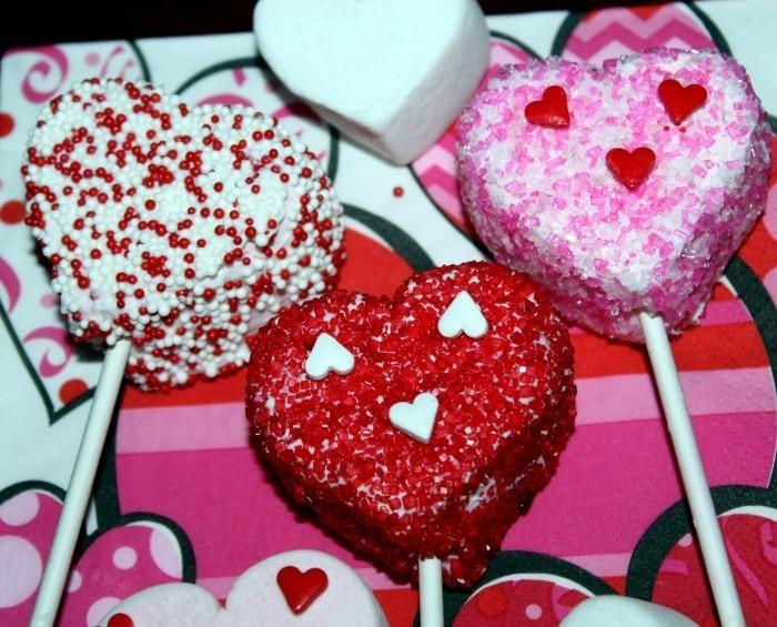 Fun Valentines Day Recipes 700x565 Fun Kids Valentines Day Recipe: White Chocolate Covered Marshmallows
