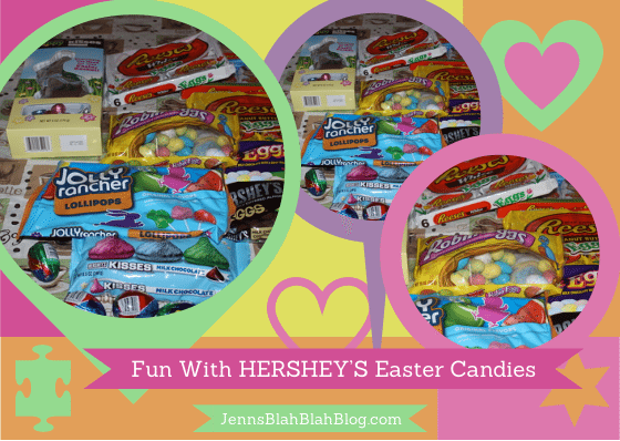Fun With HERSHEY'S Easter Candies #BunnyTrail Easter Ideas: Fun Easter Basket Ideas For Kids