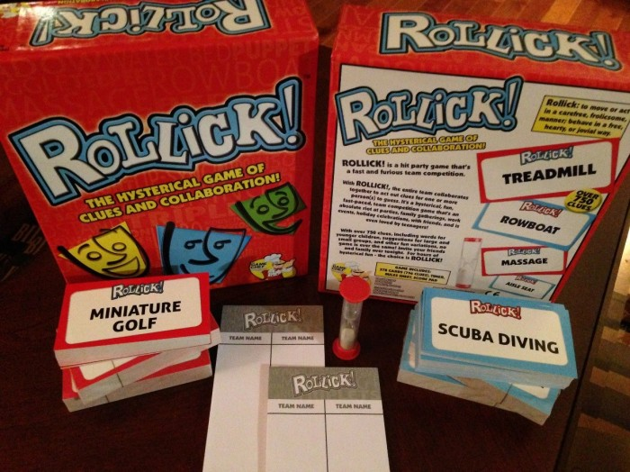 GET THE PARTY STARTED, WITH ROLLICK!