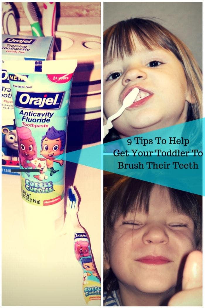 GetYour ToddlerTo Brush Their Teeth!