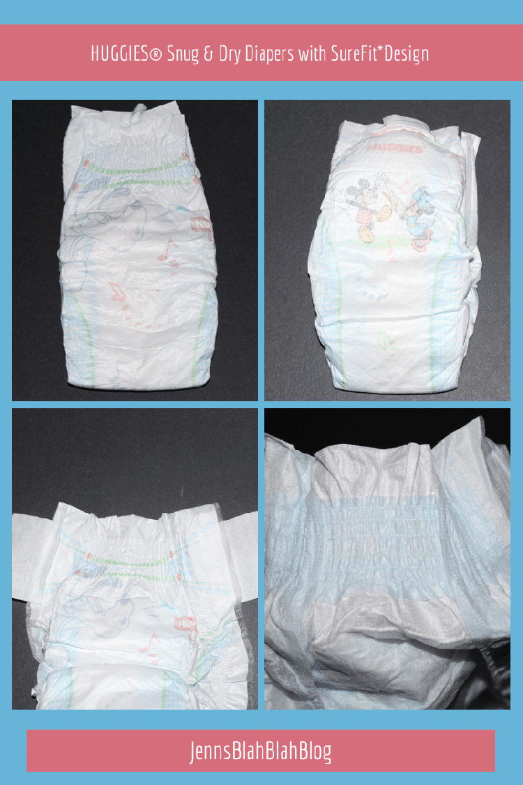 HUGGIES® Snug & Dry Diapers with SureFitDesign
