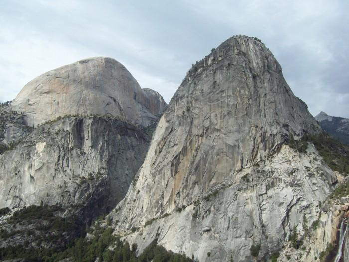 Half Dome California 700x525 Five 'Must Climb' Rock Faces in North America