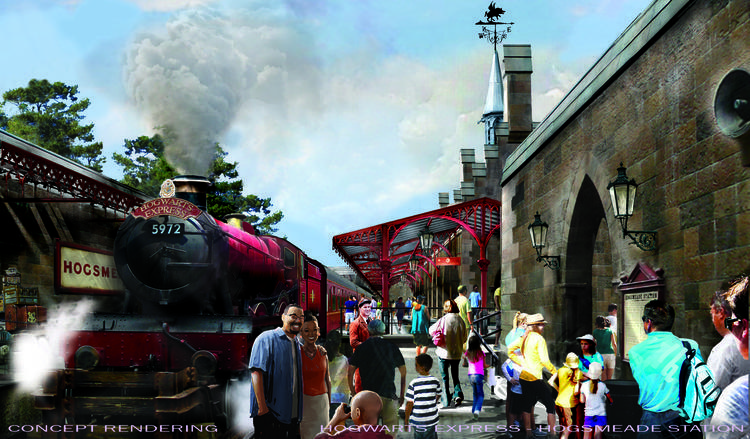 Hogsmeade Station Harry Potter Universal Orlando
