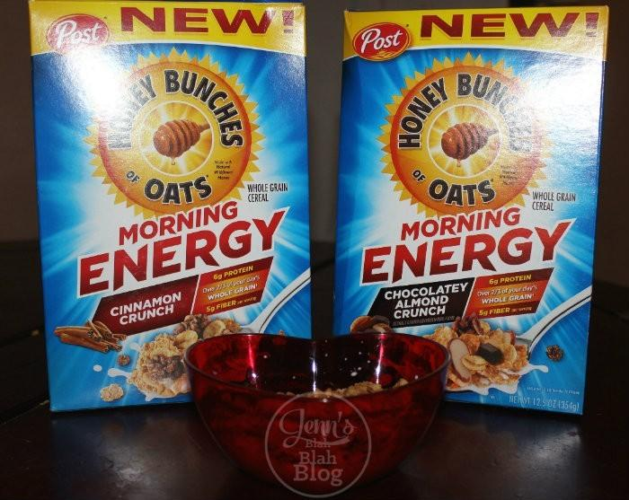 New Honey Bunches of Oats Morning Energy