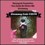 #Giveaway – 6 Winners from Honeycat