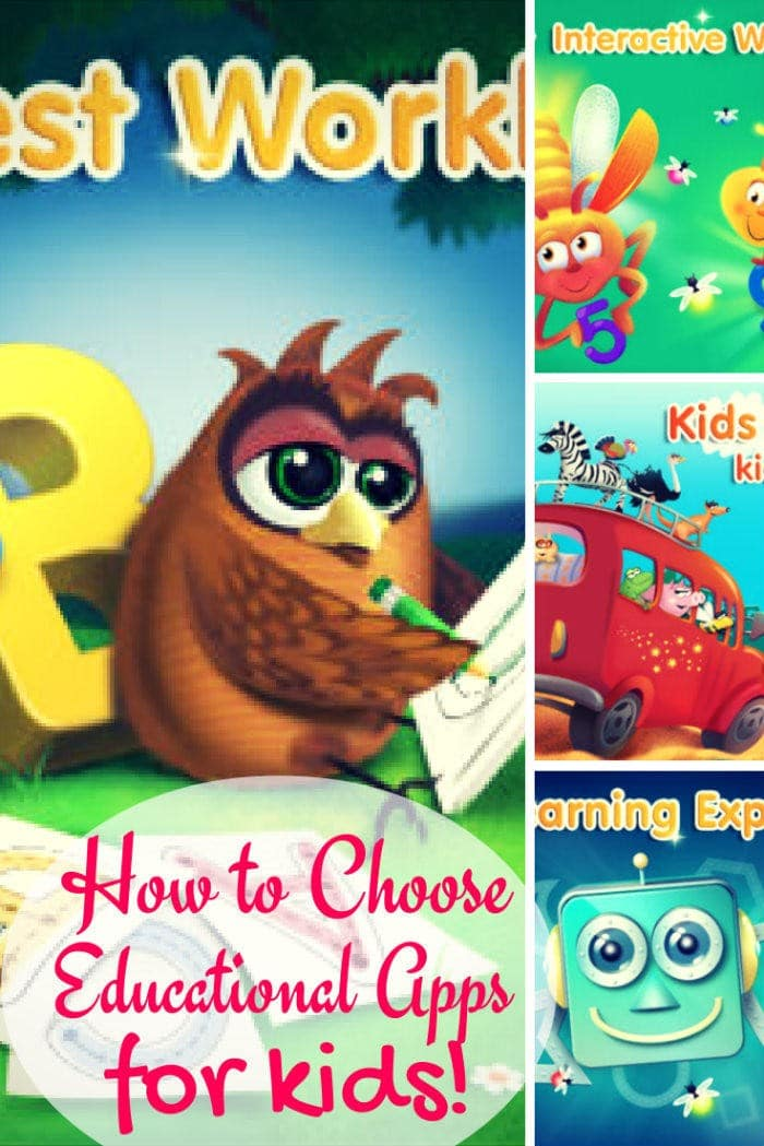 How To Choose Educational Apps For Kids