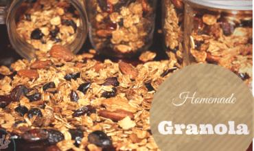 Super Easy Homemade Granola Recipe