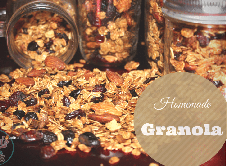 Super Easy Homemade Granola Recipe