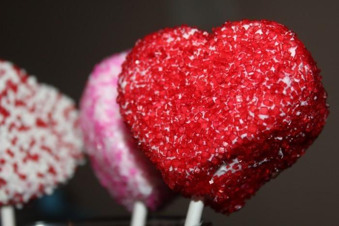 IMG 4815 700x466 Fun Kids Valentines Day Recipe: White Chocolate Covered Marshmallows