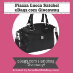 #Giveaways: Enter To #Win Piazza Lucca Satchel From eBags