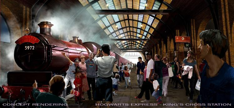 Universal Orlando Harry Potter Diagon Alley King's Cross Station