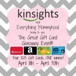 #Giveaway: Enter To #Win 1 of 4 Gift Card!